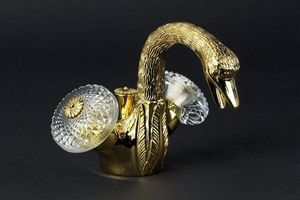 Cristal Et Bronze - cygne ailé - Bidet Mischer