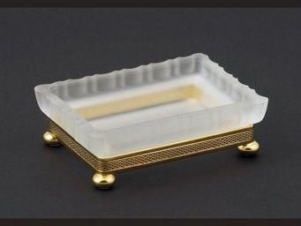 Cristal Et Bronze - cristal satiné - Seifenhalter