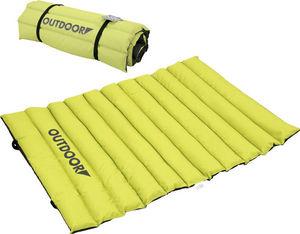 ZOLUX - tapis extérieur matelassé vert en polyester 87x65x - Hundebett