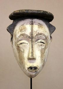 CALAOSHOP - masque de danse fang - Maske Aus Afrika