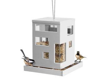 Umbra - mangeoire à oiseaux à suspendre design blanche 20x - Vogelfutterkrippe