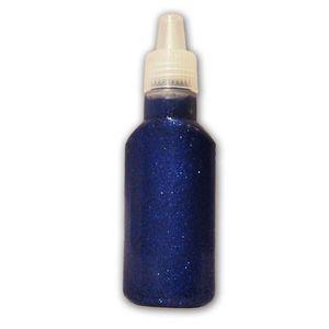 ARTEMIO - colle à paillettes - bleu - Pailetten