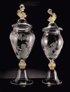 Seguso Gianni -  - Vase Mit Deckel