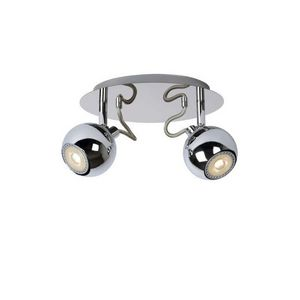LUCIDE - spot comet led double chrome - Led Spotleuchte