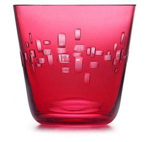 Rotter Glas -  - Trinkbecher