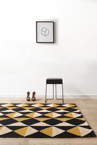 Rouge Du Rhin -  - Moderner Teppich