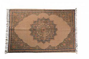 WHITE LABEL - tapis rural dutchbone design oriental sablé ( 120  - Berberisch Teppich