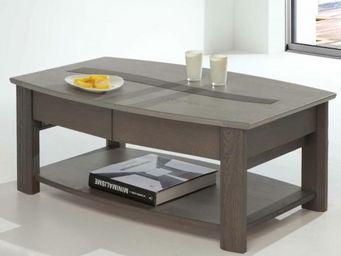 Ateliers De Langres - table basse rectangulaire oceane - Rechteckiger Couchtisch
