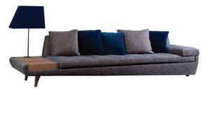 ROCHE BOBOIS - illusion - Sofa 5 Sitzer