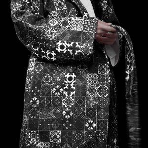 SOLO ATHENS - sã?lã? designer bathrobe lithos - Morgenmantel
