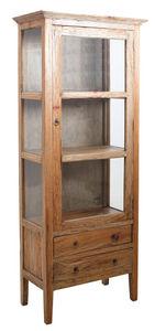 Aubry-Gaspard - armoire en bois et verre - Glasschrank