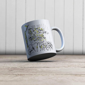 la Magie dans l'Image - mug vélos - Mug
