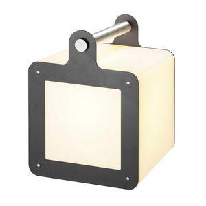 SLV - cube lumineux portable omnicube ip54 h43 cm - Gartenleuchte