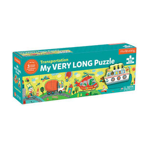BERTOY - 30 pc long puzzle transportation - Kinderpuzzle