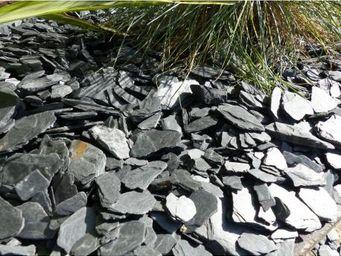 CLASSGARDEN - paillage d'ardoises noir - pack pour 10 m² calibr - Mulchgewebe