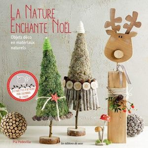LES EDITIONS DE SAXE - la nature enchante noël - Deko Buch