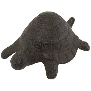 CHEMIN DE CAMPAGNE - statue sculpture tortue cache-clef clé en fonte de - Gartenschmuck