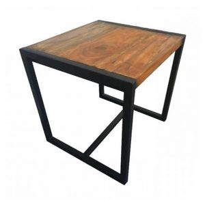 Mathi Design - table de repas factory - Quadratischer Esstisch