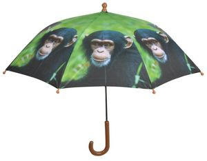 KIDS IN THE GARDEN - parapluie enfant out of africa singe - Regenschirm