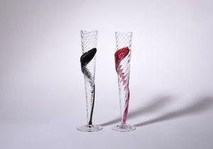 CERVA design - flame set - Champagnerkelch