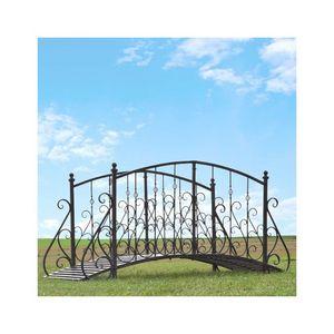 CHEMIN DE CAMPAGNE -  - Garten Brücke