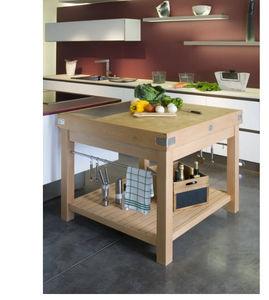 CHABRET - ilot - Küchenblock