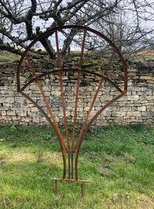 La Forge  de La Maison Dieu - feuille - Pflanzenstütze