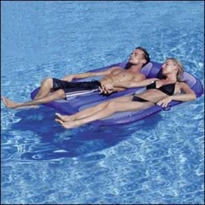 SWIMWAYS EUROPE - double floating hammock - Colchoneta Para Piscina