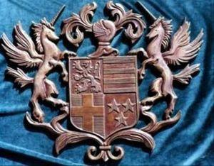 LA GRAVURE HERALDIQUE -  - Wappen Kupferstich