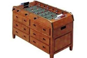 Bonzini - commode 12 tiroirs - Tischfußball