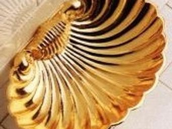 Cristal Et Bronze - coquille - Wandseifenhalter