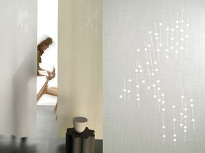 Lily Latifi - nuage de fleurs - Japanische Zwischenwand
