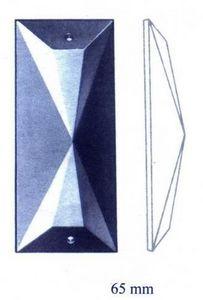 Falbala - trapèze - Kronleuchter Zapfen