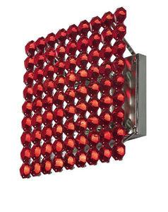 MARCHETTI ILLUMINAZIONE - topazio red crystal - Büro Wandleuchte