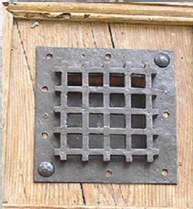 Les Forges De Signa -  - Gitter Für Guckfenster