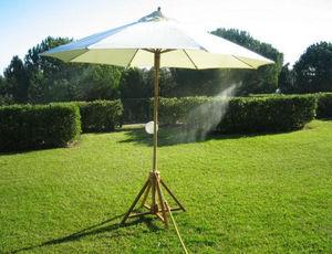 CLIC & COOL BRUMISATION - bamboo - Sonnenschirm Mit Zerstäuber