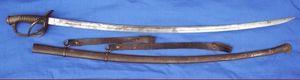 Cedric Rolly Armes Anciennes - sabre de cavalerie legere modele 1822 - Säbel