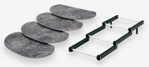 Rigaflex - escalier 3 niveaux étroit - Thekendisplay