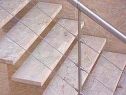 Chelsea Artisans - traditional stone - Gerade Treppe