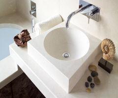 Mega Marble - marble - Wc Waschtisch