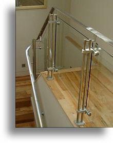 Sg System Products - strading applications - Treppengeländer