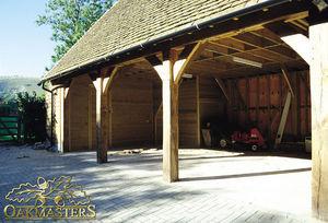 Oakmasters - oak garage - Autoüberdachung
