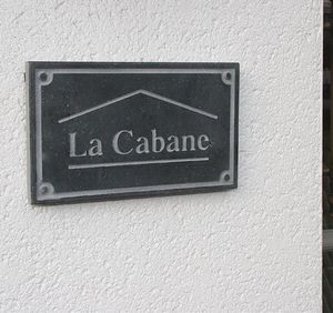 La Pierre - board 6 - Hausnamensschild