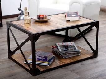 Miliboo - atelier table basse - Rechteckiger Couchtisch