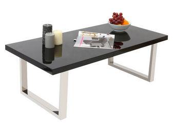 Miliboo - halifax table basse - Rechteckiger Couchtisch