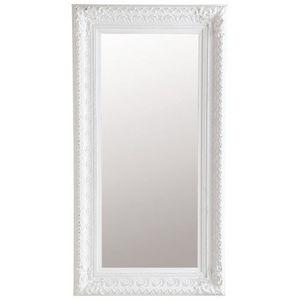 Maisons du monde - miroir marquise blanc 95x180 - Spiegel