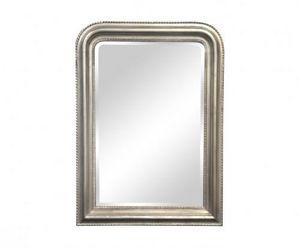 Demeure et Jardin - miroir argenté style louis philippe - Spiegel