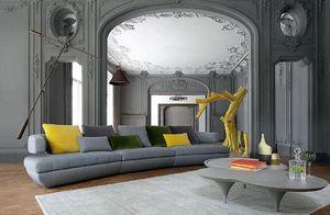 ROCHE BOBOIS - kerria - Sofa 4 Sitzer