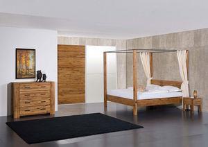 Futon Design -  - Doppel Himmelbett