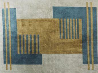 La Manufacture  Cogolin - abstraction - Moderner Teppich